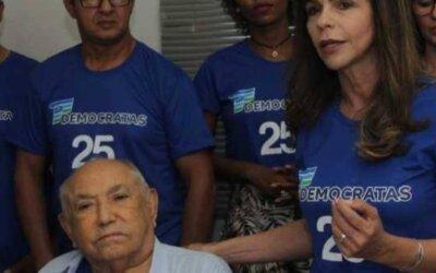 Dorinha registra orgulho por ter Siqueira Campos no DEM e o parabeniza pelos seus 92 anos